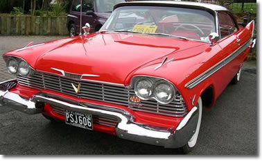 Voiture Ancienne Plymouth Fury 1958