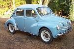 VOITURE ANCIENNE.....Renault 4CV 1957